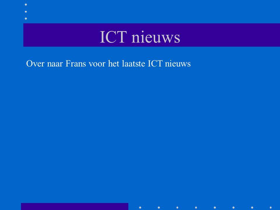 ICT nieuws Over naar Frans voor het laatste ICT nieuws