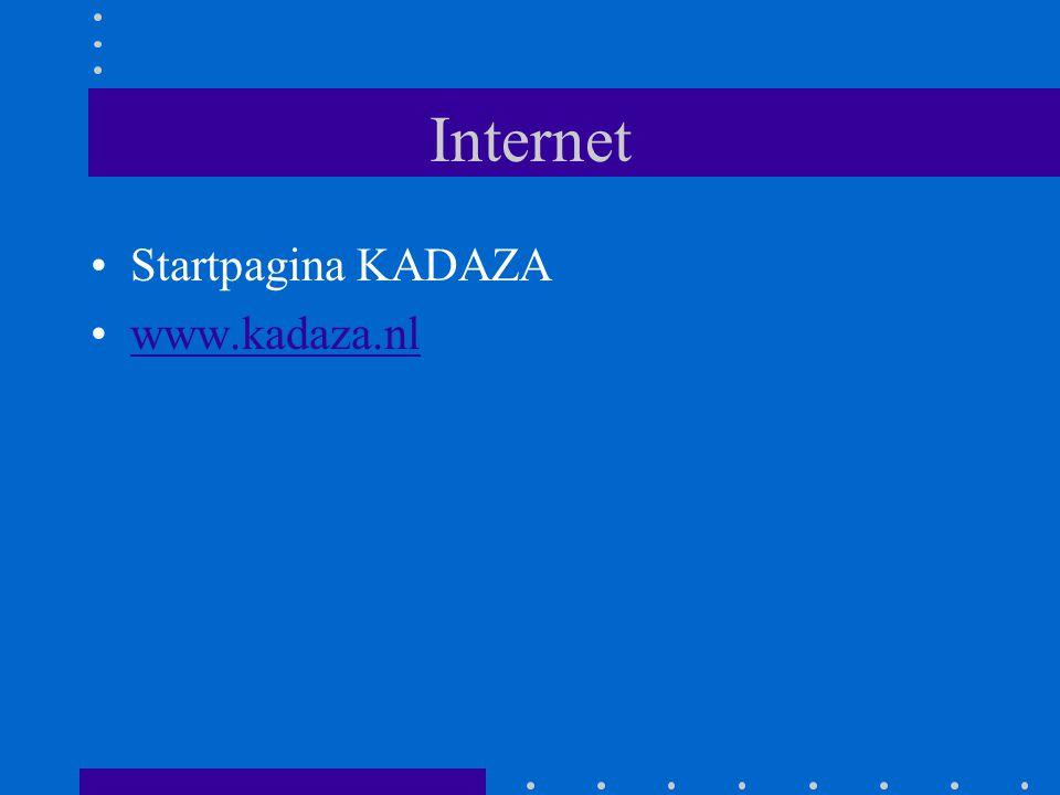 Internet Startpagina KADAZA www.kadaza.nl