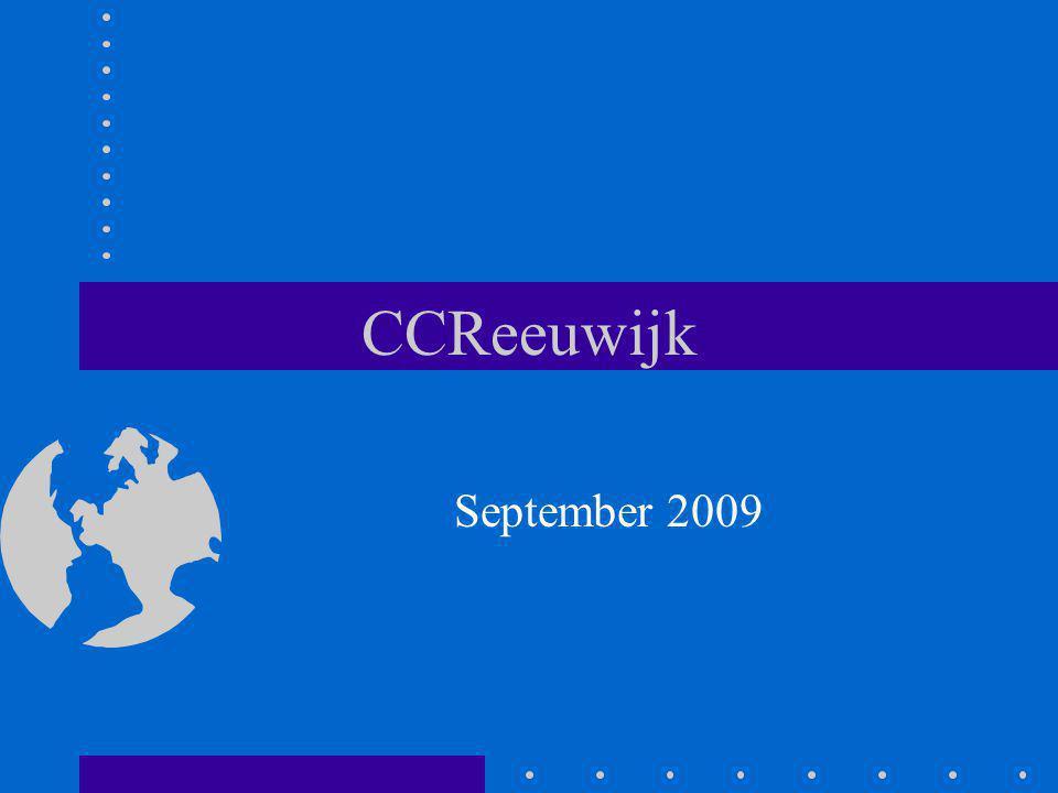 CCReeuwijk September 2009