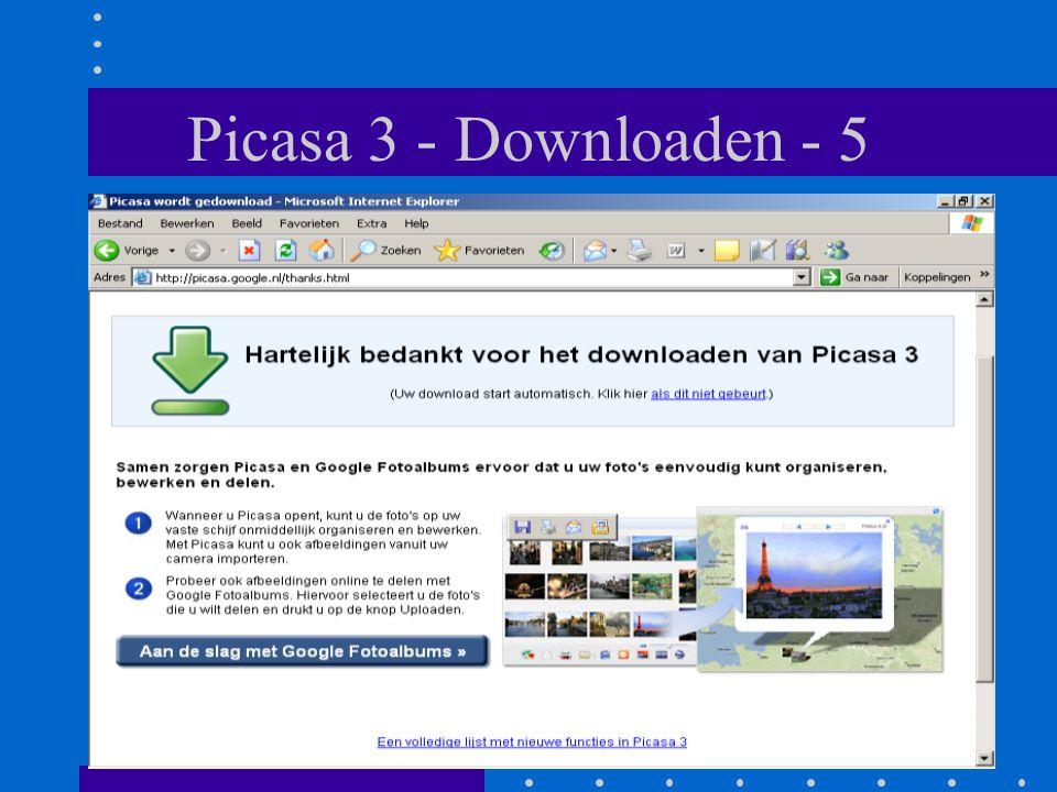 Picasa 3 - Downloaden - 5