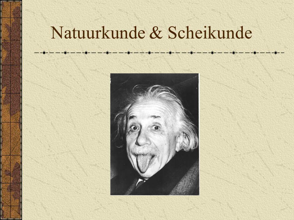 Natuurkunde & Scheikunde