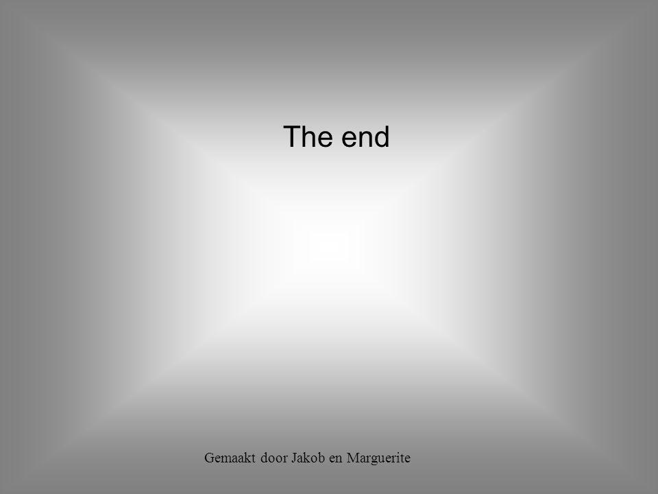 The end Gemaakt door Jakob en Marguerite