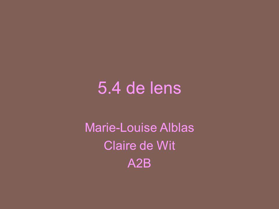 5.4 de lens Marie-Louise Alblas Claire de Wit A2B