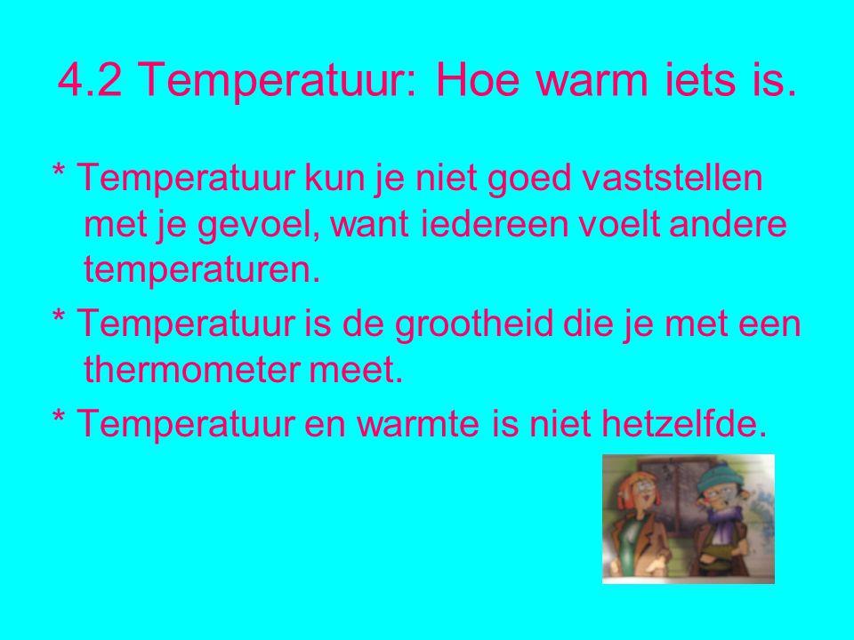4.2 Temperatuur: Hoe warm iets is.