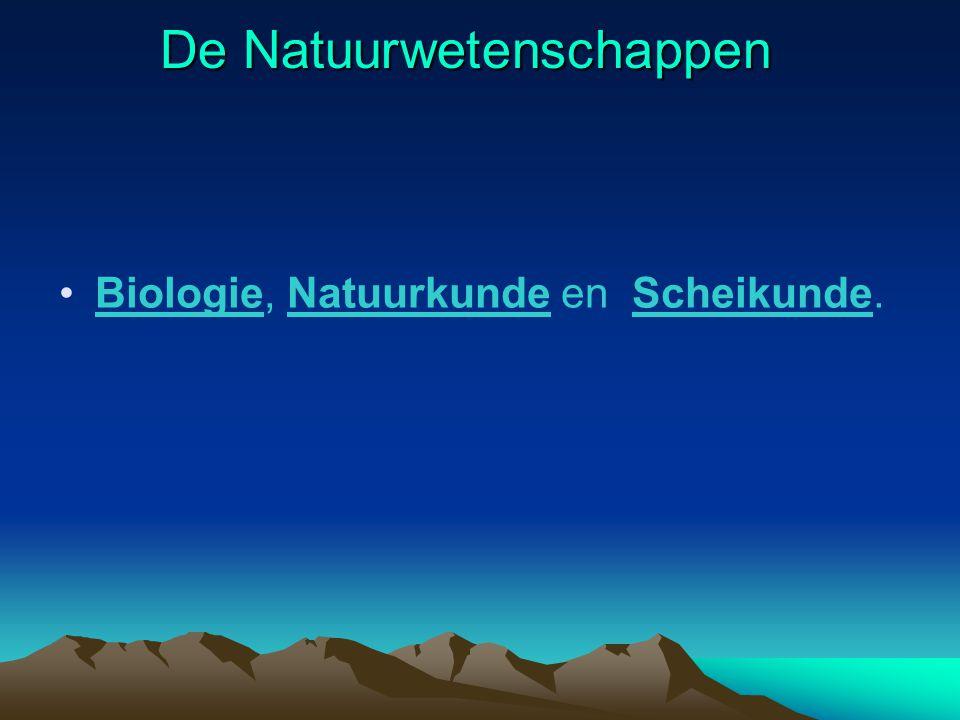 Wat zijn natuurwetenschappen Gemaakt door : Ashequlla, Philipp