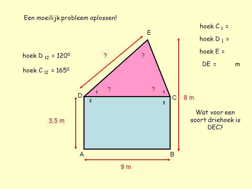 4.3 Driehoeken tekenen deel 1 Je leert nu hoe je een driehoek moet tekenen.