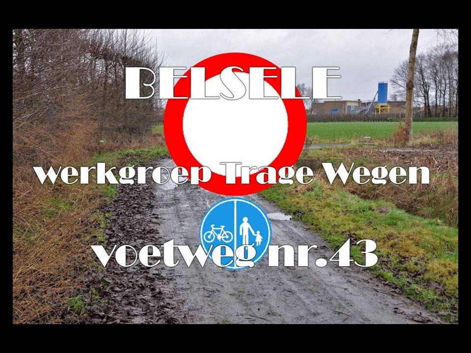 In de Atlas der Buurtwegen van Belsele van 2 april 1845 wordt voetweg nr.