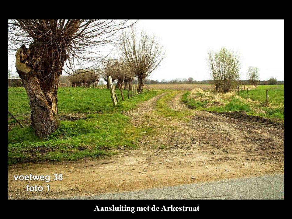 Aansluiting met de Arkestraat