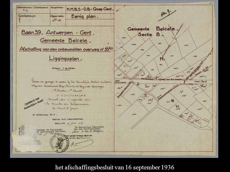het afschaffingsbesluit van 16 september 1936