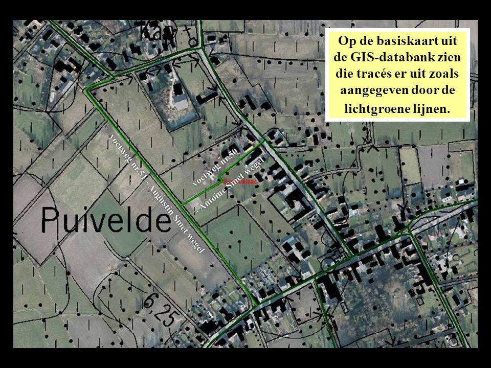 Op de satellietfoto van GoogleMaps geeft dat dit resultaat.