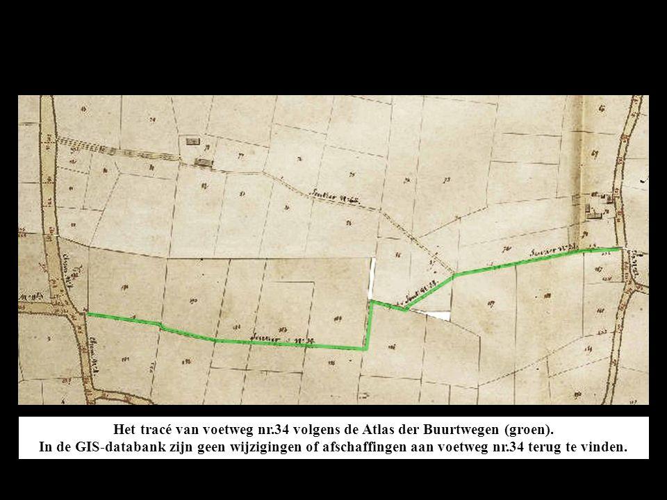 De pijltjes op deze satellietfoto van Google Maps geven de plaats aan en de richting waarin de volgende foto's gemaakt zijn bij verkenningen op 26 februari 2011 (foto's 1 tot 14) en 29 december 2012 (foto's 15 tot 17).