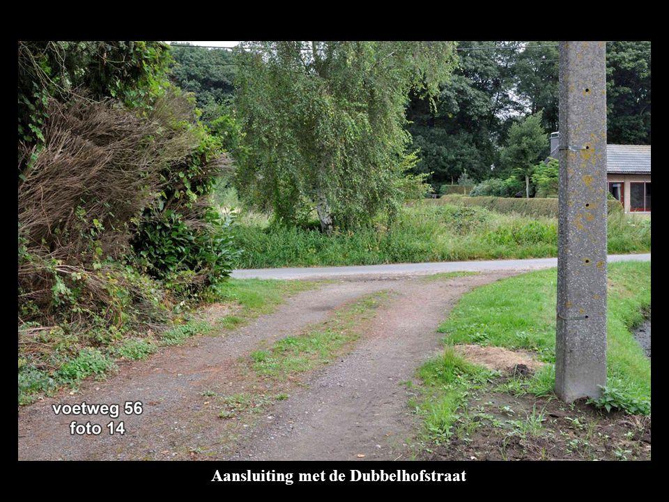 Aansluiting met de Dubbelhofstraat