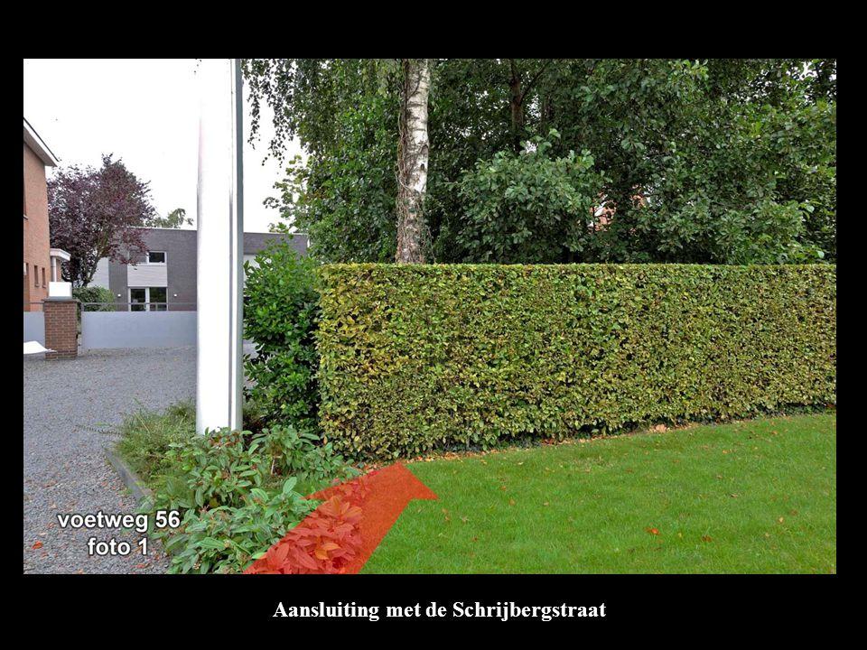 Aansluiting met de Schrijbergstraat