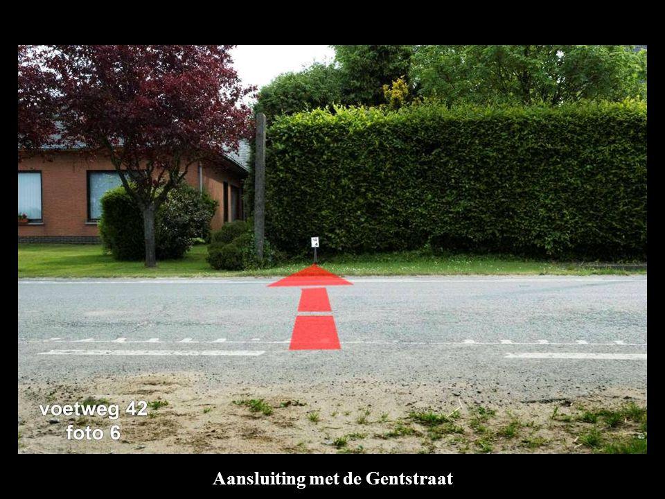 Aansluiting met de Gentstraat