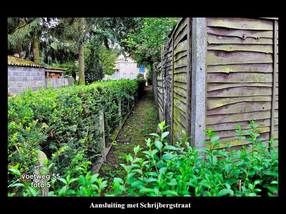 Aansluiting met Schrijbergstraat