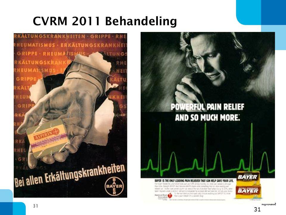 31 CVRM 2011 Behandeling