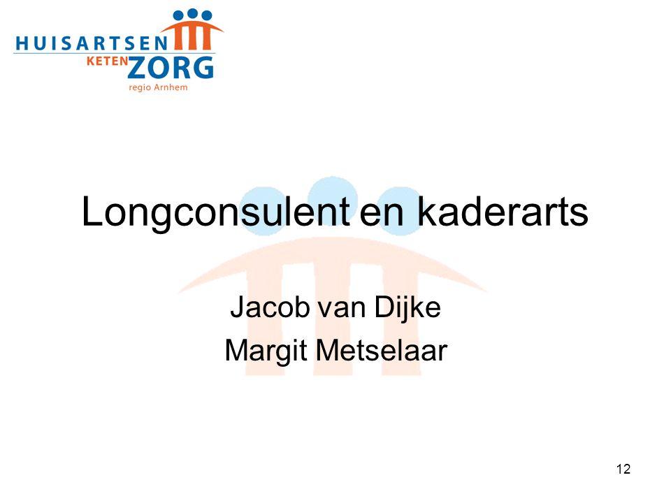 12 Longconsulent en kaderarts Jacob van Dijke Margit Metselaar