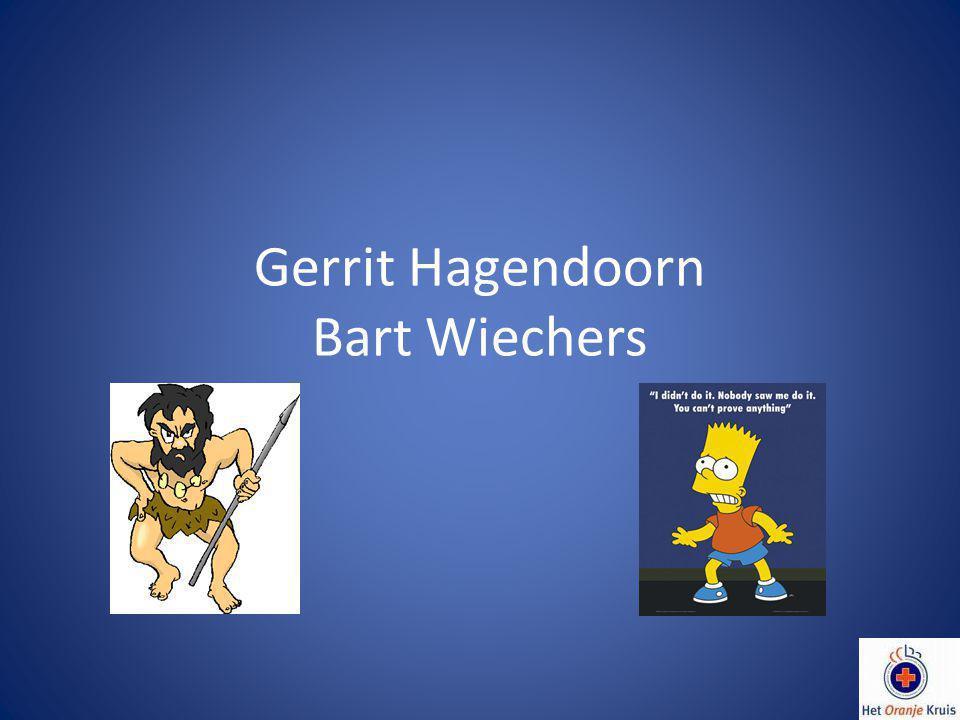 Gerrit Hagendoorn Bart Wiechers