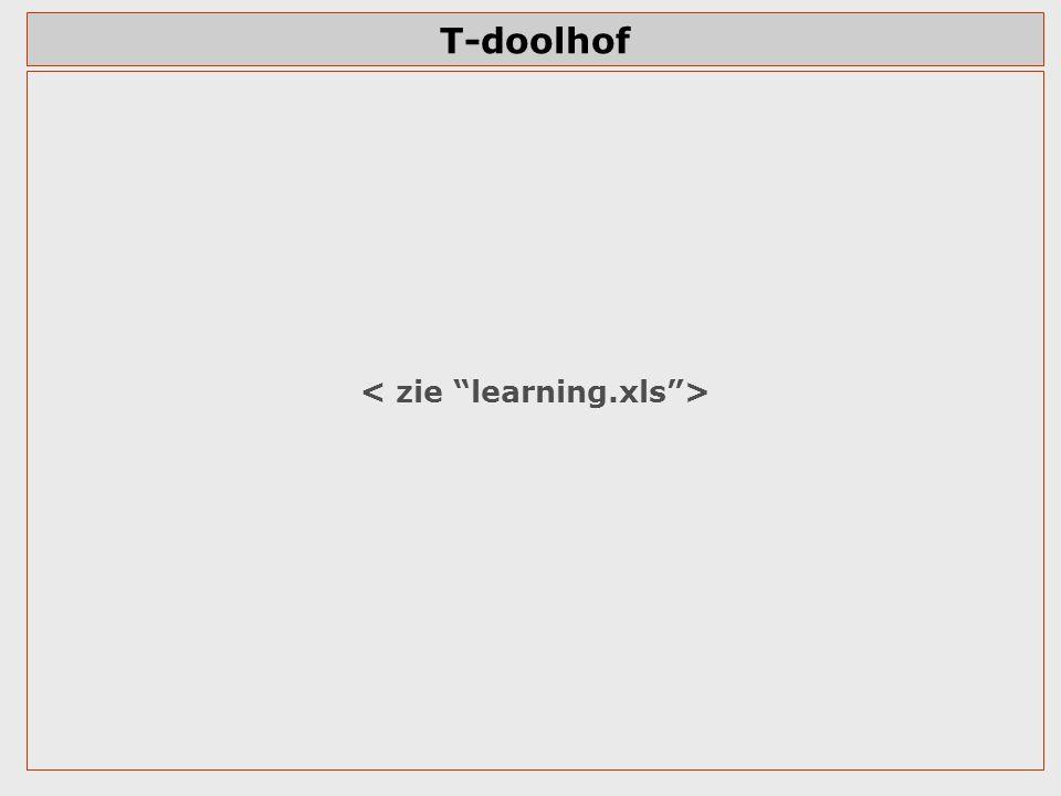 T-doolhof