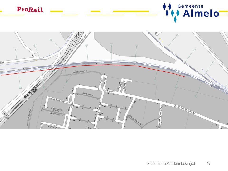 Fietstunnel Aalderinkssingel 17