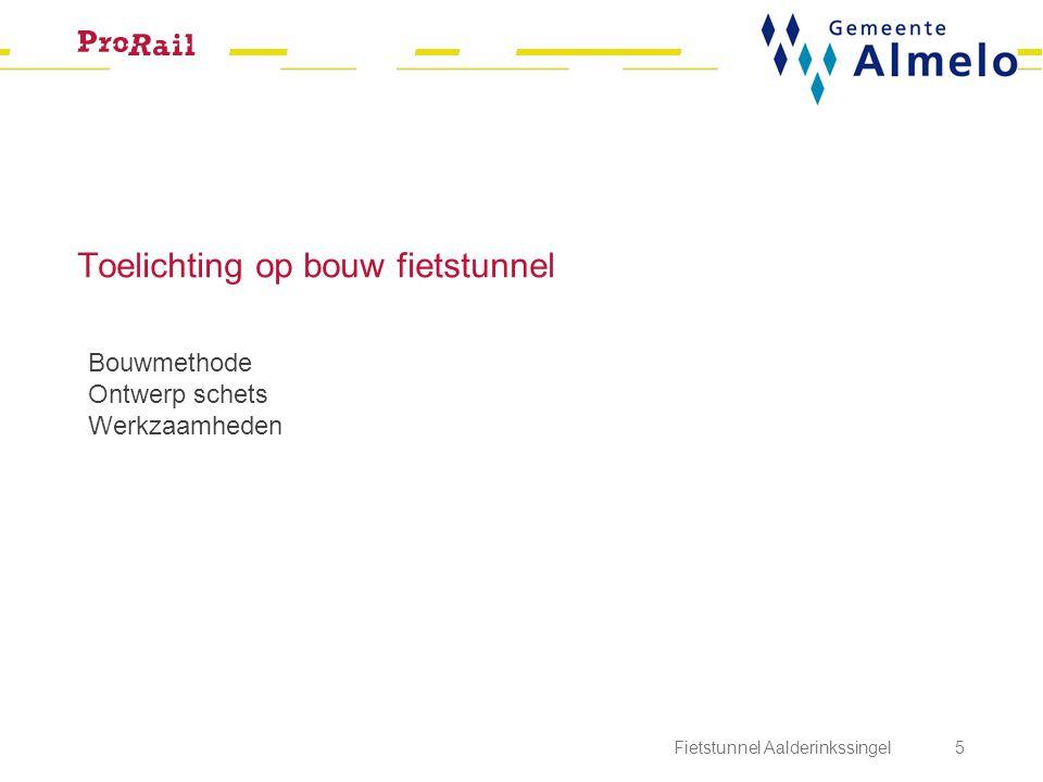 Fietstunnel Aalderinkssingel 6 Bouwmethode Design & construct