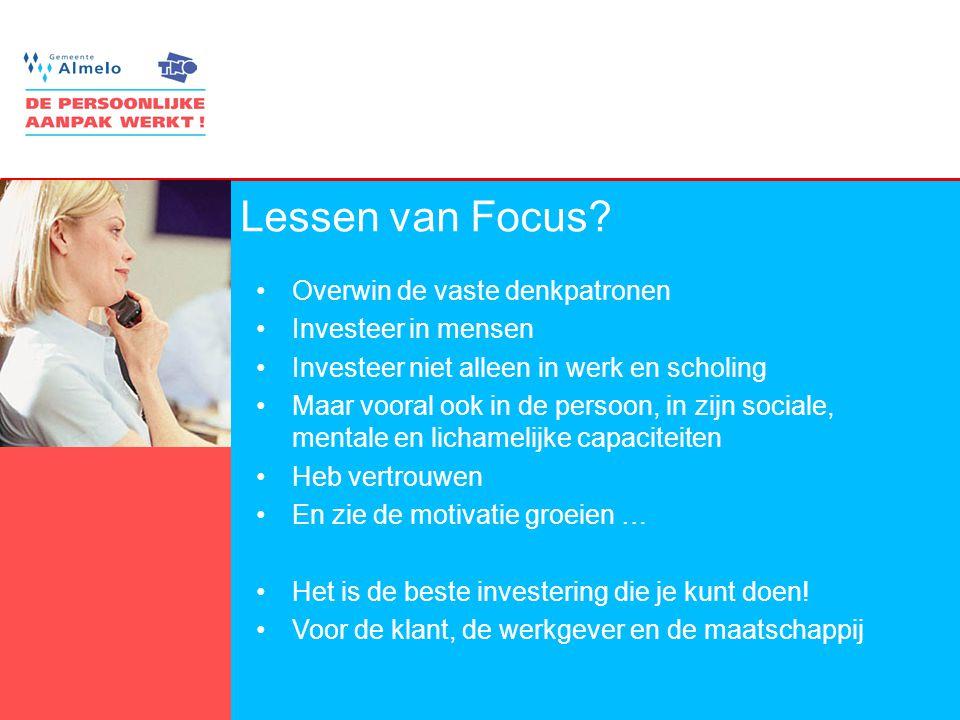 13 Lessen van Focus.