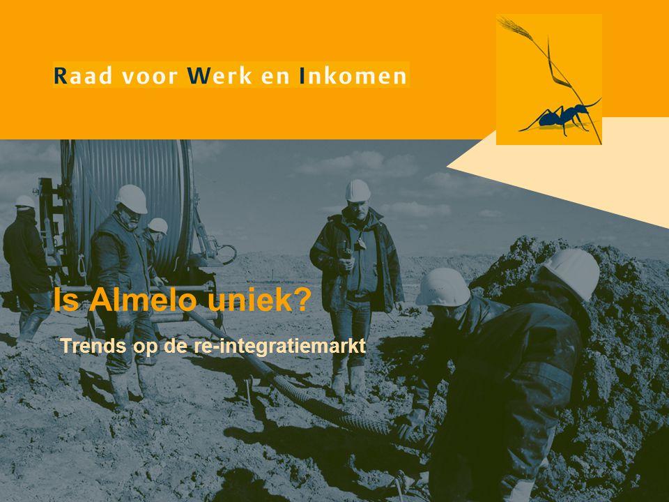 Is Almelo uniek Trends op de re-integratiemarkt
