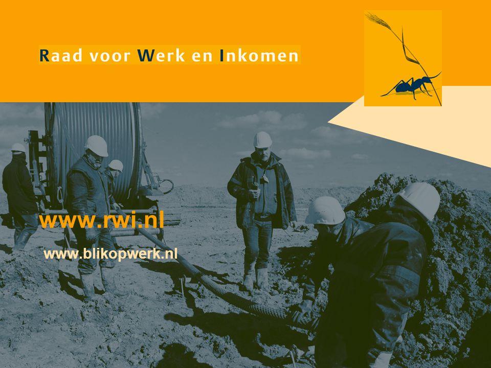 www.rwi.nl www.blikopwerk.nl