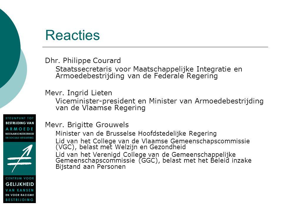 Reacties Dhr.