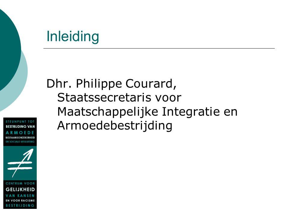 Voorstelling Verslag 2008-2009 Deel 2 Henk Van Hootegem Marilène De Mol Steunpunt tot bestrijding van armoede, bestaansonzekerheid en sociale uitsluiting