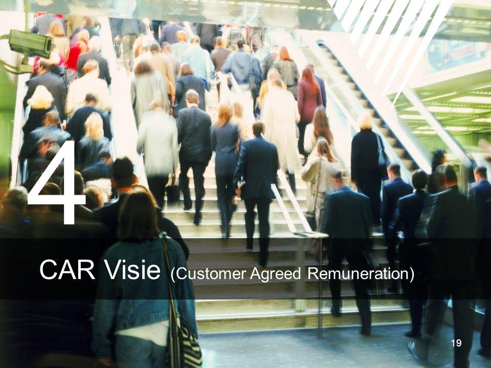 19 4 CAR Visie (Customer Agreed Remuneration)