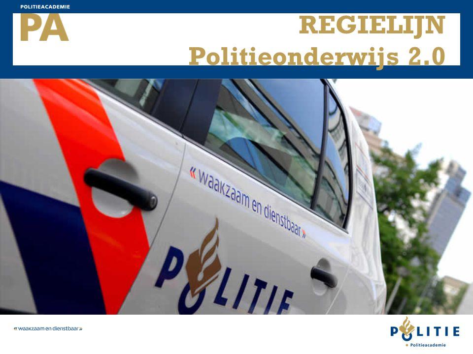 REGIELIJN Politieonderwijs 2.0
