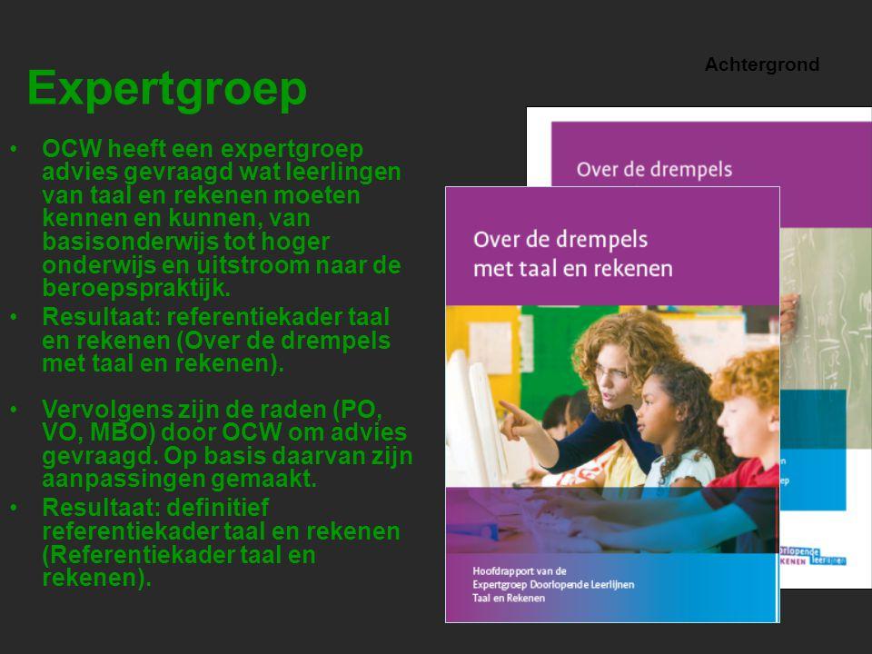 Referentiekader www.taalenrekenen.nl: actuele informatie voor alle sectoren over het referentiekader.