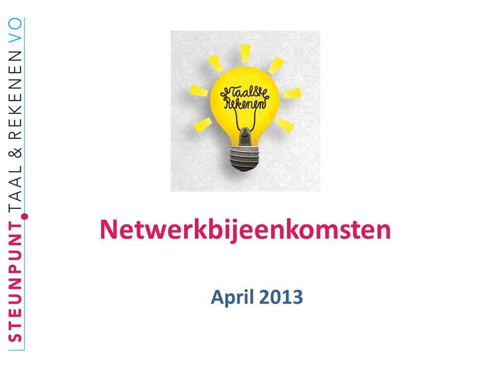  23 april: evaluatiebijeenkomst rekentoetspilot examensecretarissen: vol.