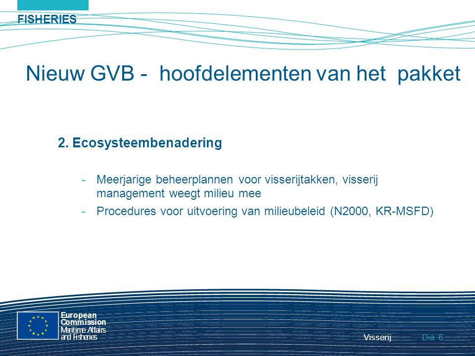 FISHERIES Dia European Commission MaritimeAffairs andFisheries Visserij7 3.