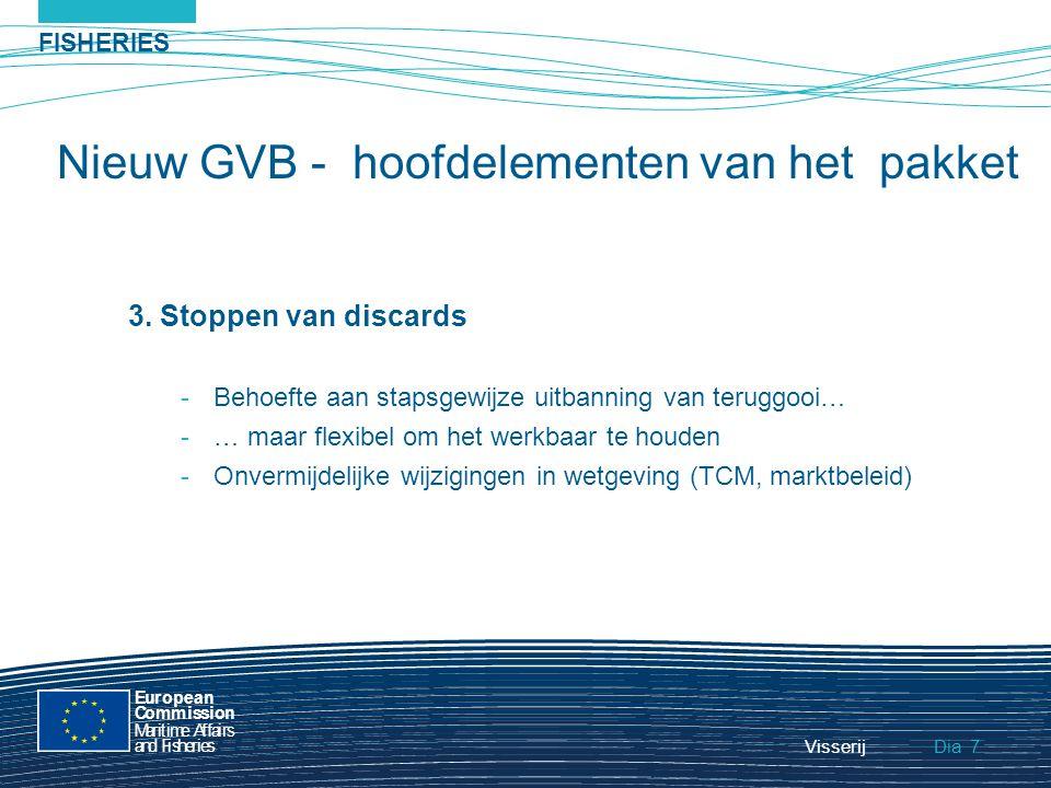 FISHERIES Dia European Commission MaritimeAffairs andFisheries Visserij8 4.