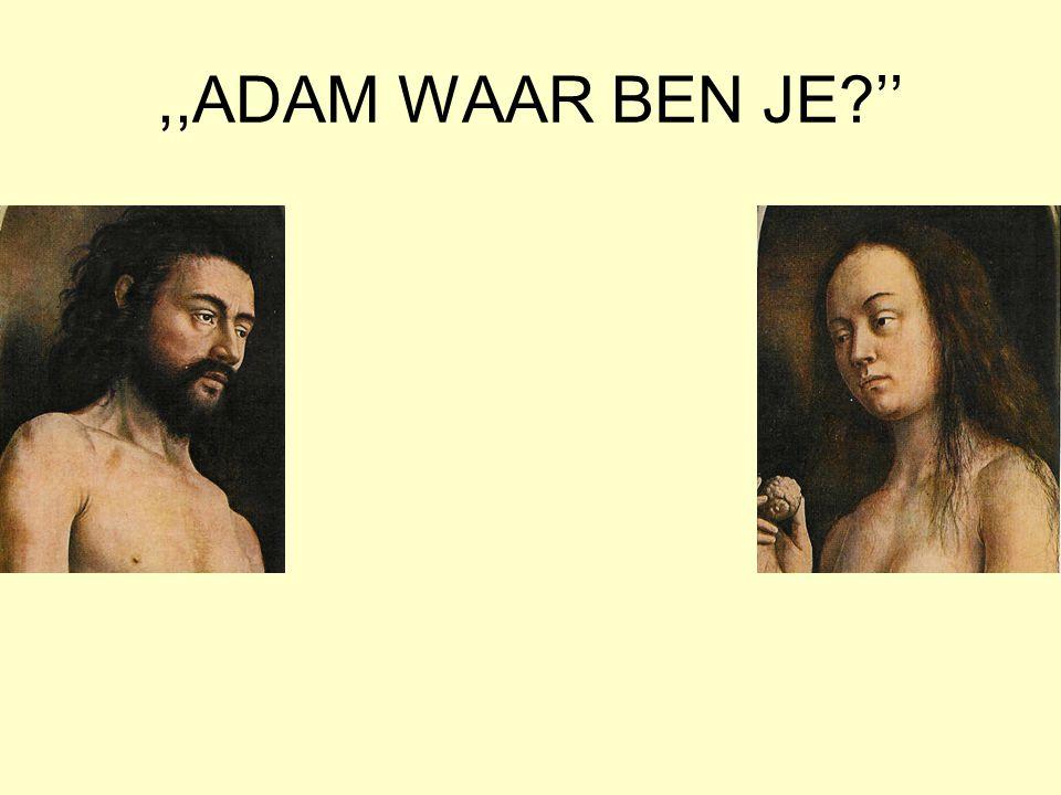 ,,ADAM WAAR BEN JE?''