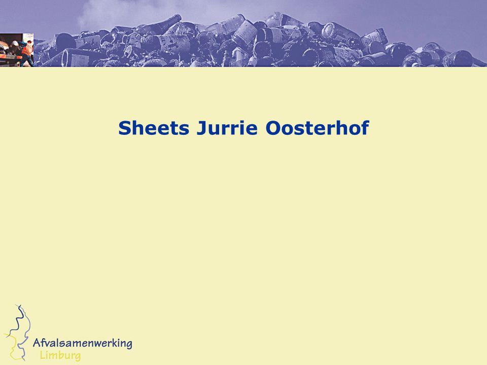 Sheets Jurrie Oosterhof