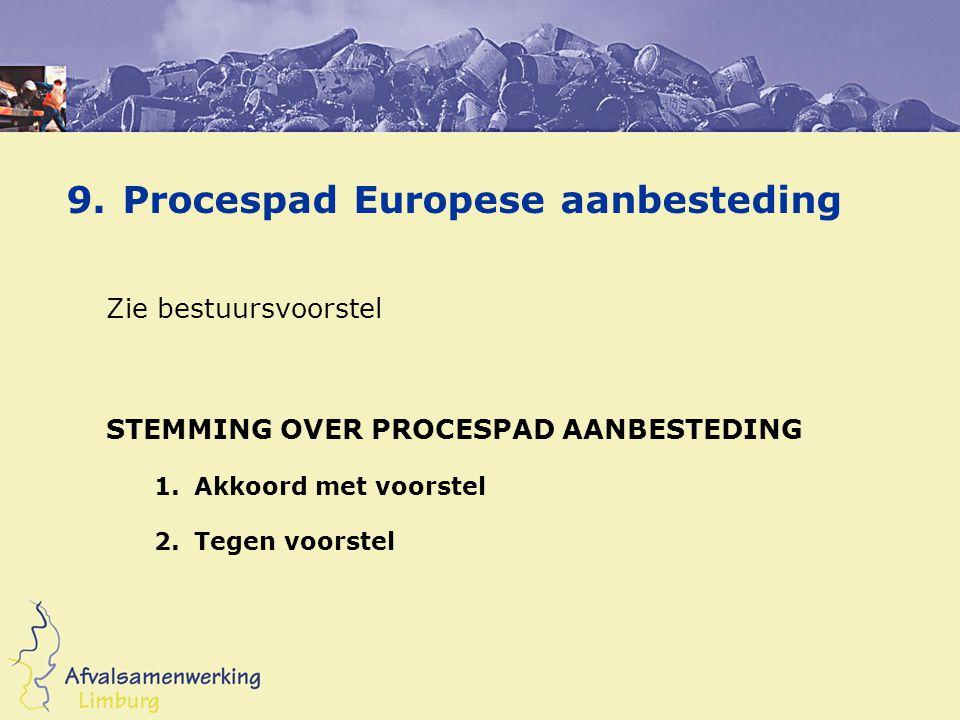 Volgende ALV Bijzondere bijeenkomst ASL Centraal thema: Marktconcept Bestek Aanbestedingsprocedure Voorstel: donderdag 16 juni 2005
