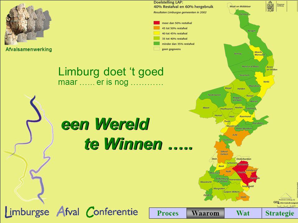 Afvalsamenwerking ProcesWatStrategie Limburg doet 't goed maar …...
