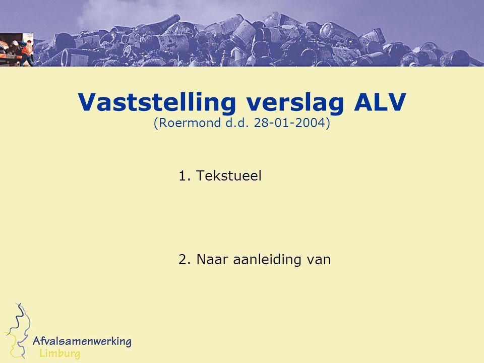 Bestuurssamenstelling Bezetting bestuurszetels 1-1-2004 Mr.