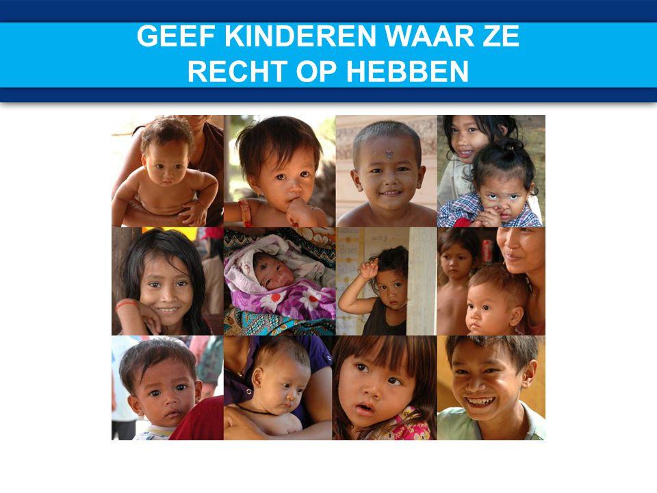 KIWANIS EN UNICEF EEN SUCCESVOL TEAM UNICEF is de officiële kinderrechtenorganisatie van de VN.