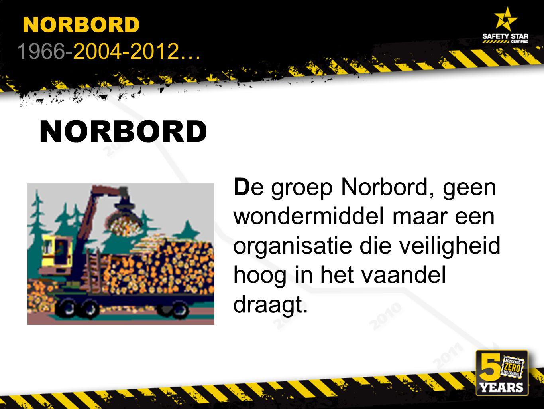 NORBORD De groep Norbord, geen wondermiddel maar een organisatie die veiligheid hoog in het vaandel draagt.