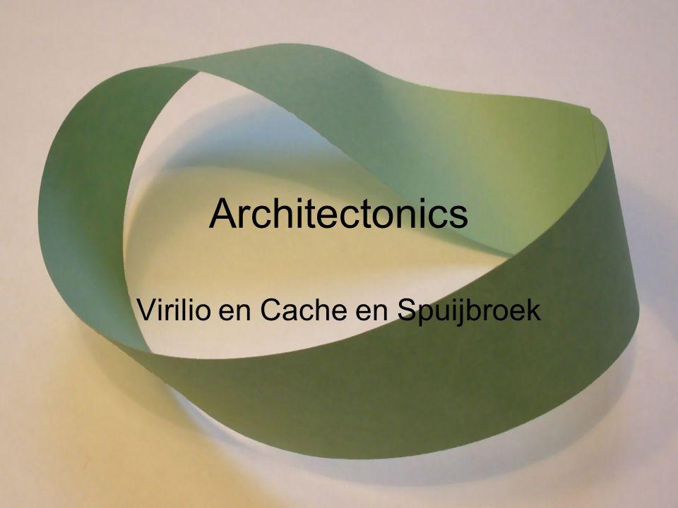 Architectonics Virilio en Cache en Spuijbroek