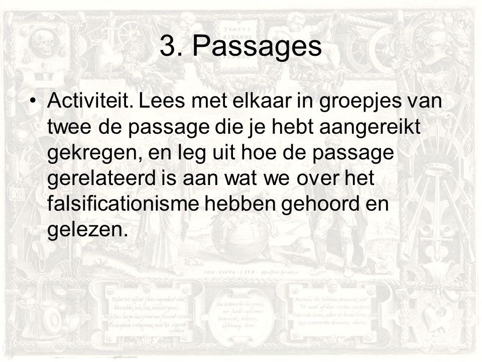 3. Passages Activiteit.