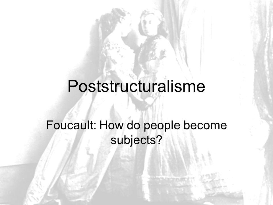 Wat volgt er op het Structuralisme.