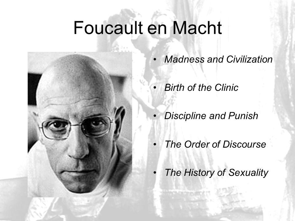 The Subject and Power Foucault ontwikkelt theorie noch methode Zoekt naar wijze waarop de mens in een samenleving wordt gevormd, en zichzelf vormt.