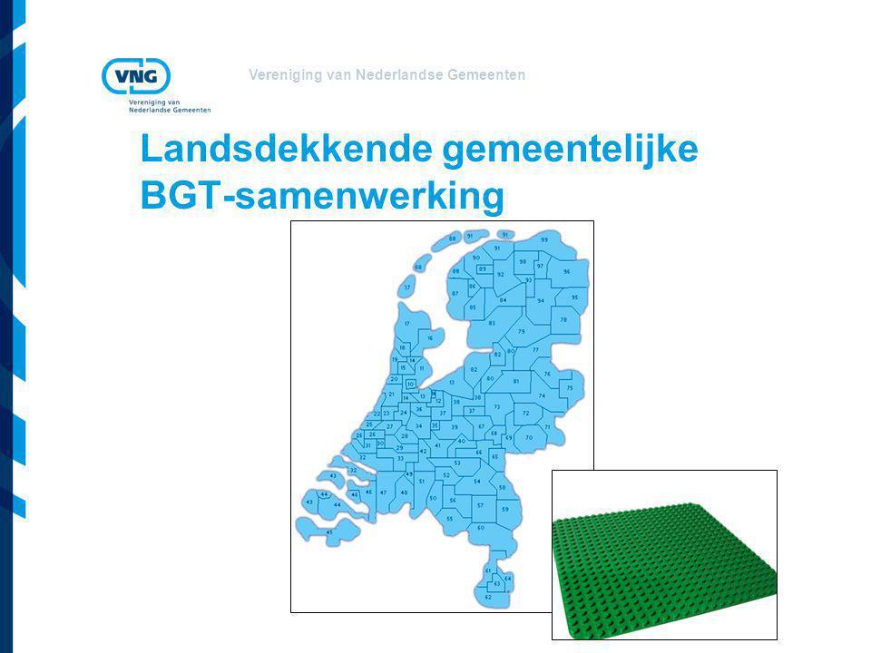 Vereniging van Nederlandse Gemeenten Landsdekkende gemeentelijke BGT-samenwerking
