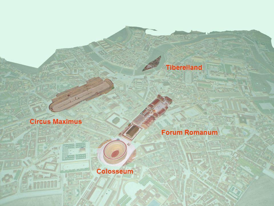Colosseum Forum Romanum Circus Maximus Tibereiland