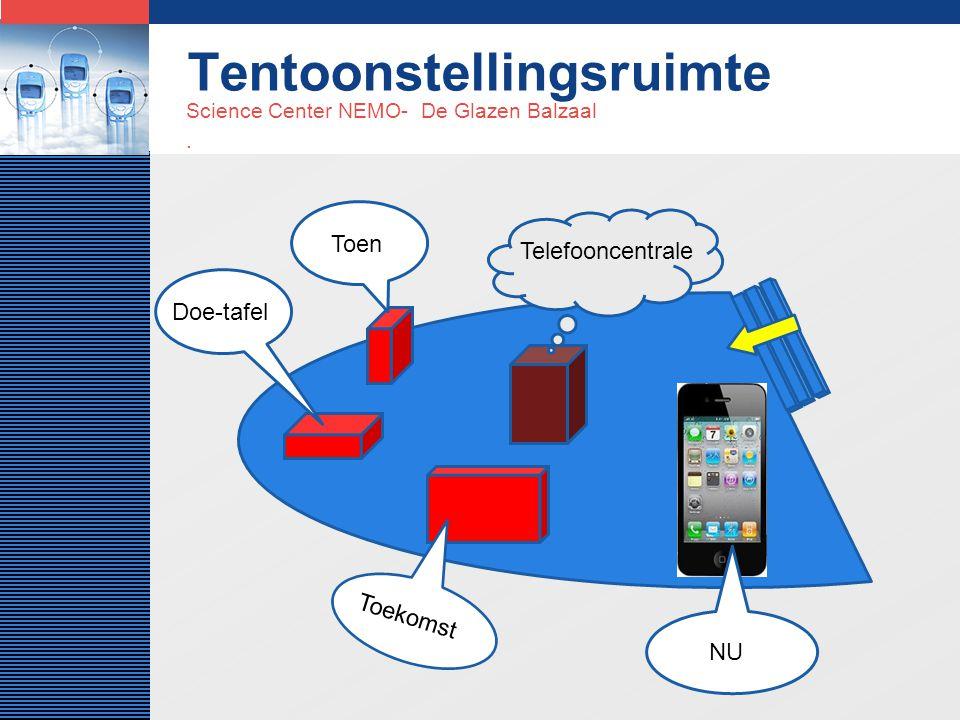 LOGO Tentoonstellingsruimte Science Center NEMO- De Glazen Balzaal.